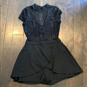 Dress with shorts